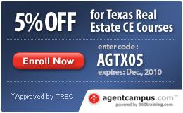 TEXAS Real Estate CE Courses