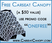 Free Carseat Canopy at CarseatCanopy.com with promo code ONEFREE