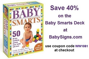 Save 40% on Baby Smarts Deck at BabySigns.com