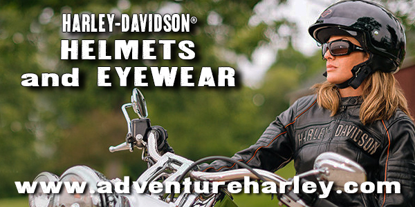 Shop www.AdventureHarley.com