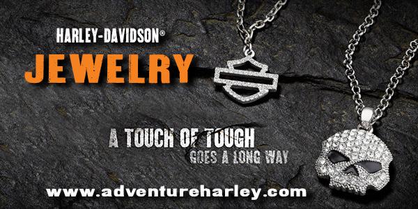 Shop www.AdventureHarley.com