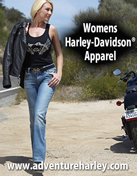 womens harley clothing