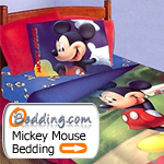 Mickey Mouse Bedding & Decor