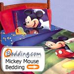 Mickey Mouse Bedding & Decor