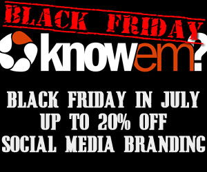 Save up to 20% off KnowEm's Services!