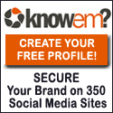 Claim your social and business profiles at Knowem for FREE