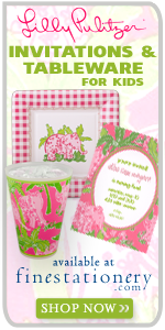 Lilly Pulitzer Invitations & Tableware For Kids