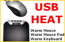 ValueRays® USB Hand Warmers: Infrared Heated Warm Computer Mouse