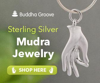 Vitarka Mudra Jewelry Pendant