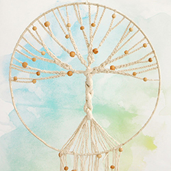 Tree of Life Macrame Dream Catcher