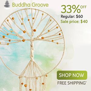 Tree of Life Macrame Dream Catcher at Buddha Groove