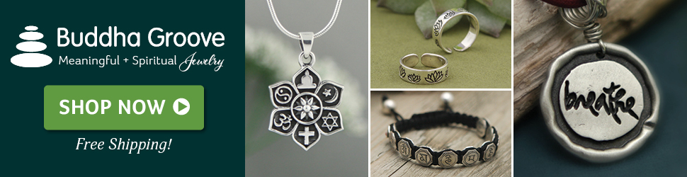 spiritual or buddhist jewelry
