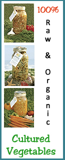 Order Cultured Vegetables!