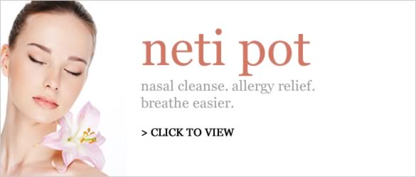 nasal cleanse. allergy relief. breathe easier.