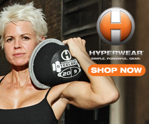 The Hyperwear SteelBell® is the most intense free weight ever created.