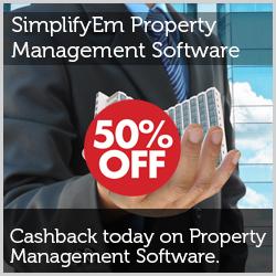 50% off on SimplifyEm Property Management Software - 250 x 250
