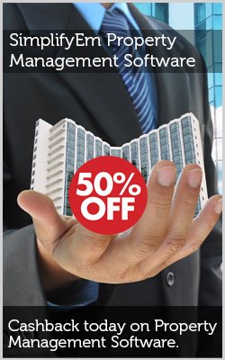 50% off on SimplifyEm Property Management Software