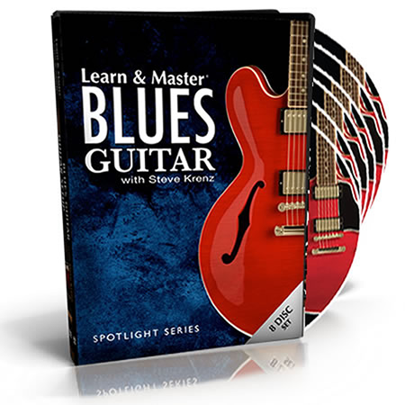 Learn and Master Spotlight Series: Blues Guitar DVD