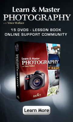 Learn & Master Photography DVD home study course is great for home schoolers