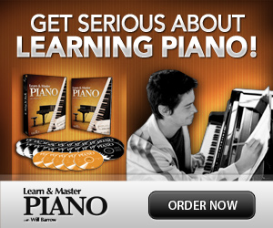Order Piano Instruction DVDs