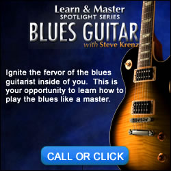 Blues Guitar Learning system