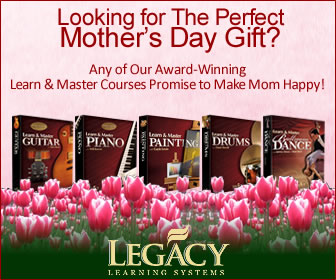 Perfect Mothers Day Gifts from Legacy Learning Systems