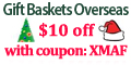 Christmas Gift Baskets- International Delivery