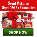 Send Gifts to Over 180+ Countries