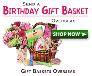 send birthday gifts overseas