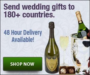 wedding gifts overseas