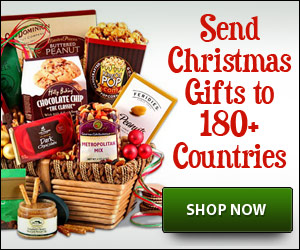 send christmas gifts internationally
