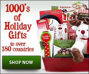 send christmas gifts internationally