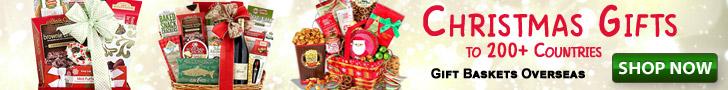 send christmas gifts overseas