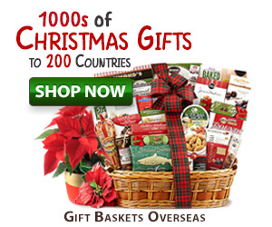 send christmas gifts overseas