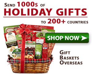 Send Holiday Gifts to Over 180+ Countries