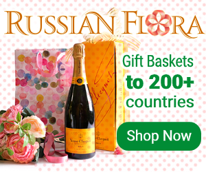 Flowers to Russia and CIS