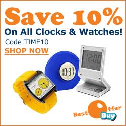 Save 10% On Watches & Clocks At BestOfferBuy.com
