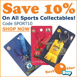 Save 10% On Sports Collectibles At BestOfferBuy.com