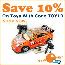 Save 10% On Toys At BestOfferBuy.com