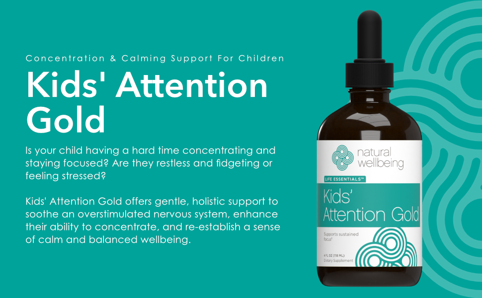 Concentration and calming support for children.