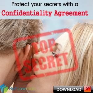 Non Disclosure Agreement