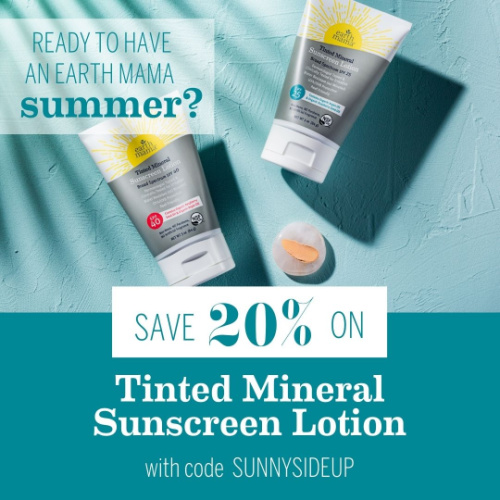 Save 20% on Tinted Mineral Sunscreen Lotion