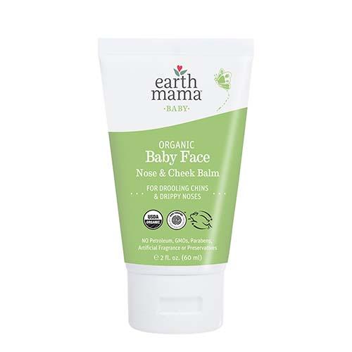 Earth Mama Organics - Organic Baby Face Nose and Cheek Balm