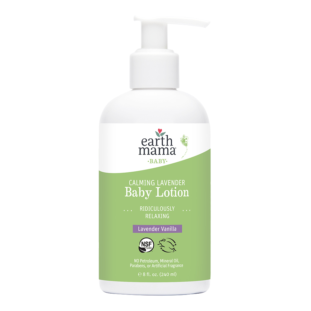 Earth Mama Organics - Calming Lavender Baby Lotion
