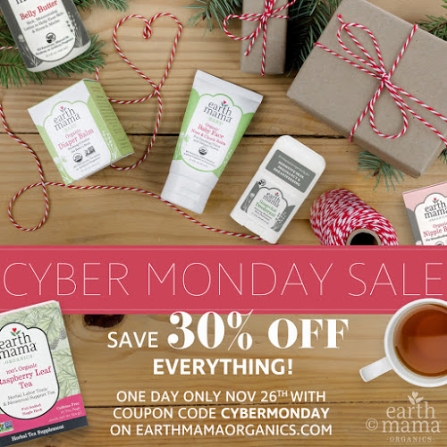 Earth Mama Organics Cyber Monday