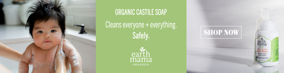 Earth Mama Organic Castile Soap
