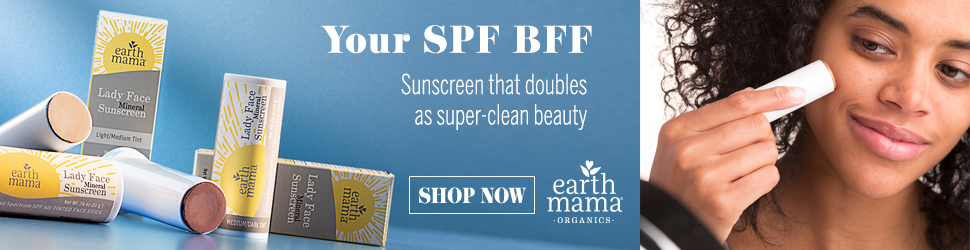 Earth Mama - Lady Face™ Mineral Sunscreen Face Stick SPF 40