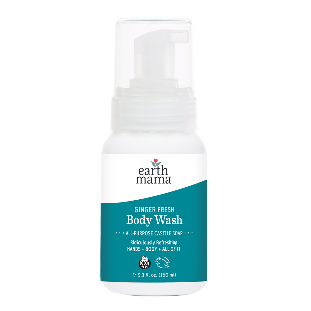 Earth Mama Organics - Morning Wellness Body Wash