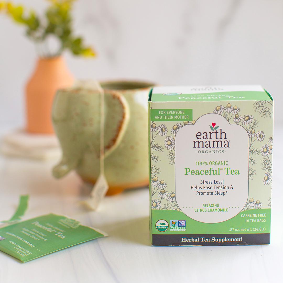 Earth Mama Organics - Organic Peaceful Mama Tea