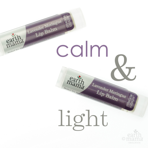 Earth Mama Organics - Lavender Meringue Lip Balm